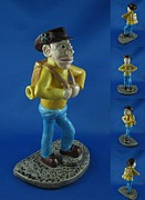 Outdoors Ceramics Originals - Hiker by Bob Dann