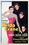 1956 Movies Prints - Hilda Crane, Jean Simmons, Guy Madison Print by Everett