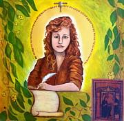Hildegard Print by Shirley Cunningham
