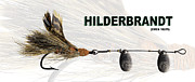 Artificial Lure Posters - Hilderbrandt Poster by Eric Monse