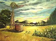 Cynara Shelton - Hill Country Windmill