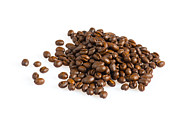 Decaf Prints - Hill of coffee grains Print by Ulrich Schade