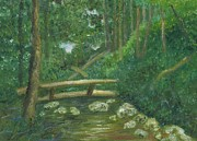 Gatlinburg Originals - Hillbilly Bridge by Heather Walker