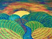 Judy Via-Wolff - Hills of Autumn