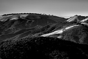 Black And White Landscape Photograph Posters - Hills Of Light And Darkness II Poster by Steven Ainsworth