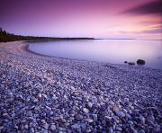 Colour Image Framed Prints - Hillside Beach, Lake Winnipeg, Manitoba Framed Print by Dave Reede