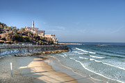 Jaffa Photos - Hillside Resort At Beach by Noam Armonn