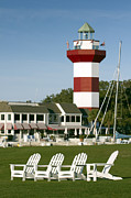 Hilton Head Prints - Hilton Head Island Lighthouse Print by Dustin K Ryan