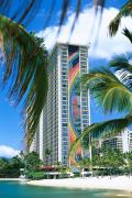 Lagoon Prints - Hilton Rainbow Tower Print by Vince Cavataio - Printscapes