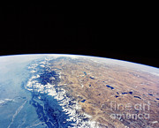 Earth Observation Framed Prints - Himalayas Framed Print by NASA / Science Source