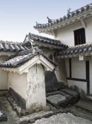 Shogun Photo Prints - HIMEJI CASTLE ROOFS and GABLES - JAPAN Print by Daniel Hagerman