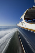 Yacht Photo Originals - Hinckley Talaria 44 Motor Yacht by Dustin K Ryan