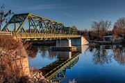 Bridge Prints - Hinmansville Bridge Print by Everet Regal