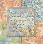 Hint Of Spring Butterfly 1 Print by Debbie DeWitt