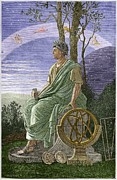 Pre-19th Prints - Hipparchus, Ancient Greek Astronomer Print by Sheila Terry