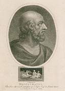 5th Century Bc; Posters - Hippocrates 460-375 Bc. Engraving Poster by Everett