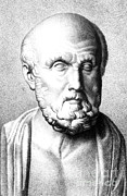 Historical Physician Framed Prints - Hippocrates, Greek Physician, Father Framed Print by Science Source