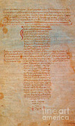 Byzantine Prints - Hippocratic Oath Print by Science Source