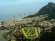 Rio De Janeiro Framed Prints - Hippodrome Gavea, Rio De Janeiro, Brazil Framed Print by Thiago Melo