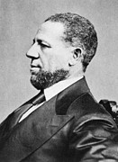 African-american Photo Posters - Hiram Rhodes Revels 1827-1901, First Poster by Everett