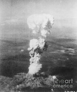 Atom Bomb Prints - Hiroshima Bombing Print by Photo Researchers