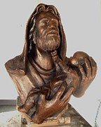 Jesus Art Sculptures - His Compassion by Mark Patrick