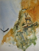 Eagle Cliff Paintings - His Kingdom by Kate Wyman
