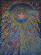 Planets Pastels - His Power and Majesty by Ann Lukesh