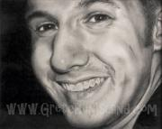 Black And White Photos Drawings - His Smile by Gretchen Barota