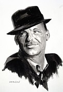 Sinatra Paintings - His Way by Dan McCole
