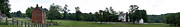 Historic Appomattox Panorama  Print by Teresa Mucha