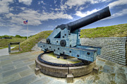 Fortifications Prints - Historic Canon  Print by Drew Castelhano