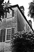 Historic Home Framed Prints - Historic Charleston Home Framed Print by Dustin K Ryan