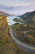 No Major Framed Prints - Historic Columbia River Highway Framed Print by Alan Majchrowicz