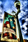 Historic Franklin Tennessee Photo Framed Prints - Historic Downtown Franklin Framed Print by Amanda Starr