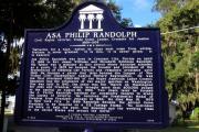 Historic Landmark Church Sign Print by Toni Hopper