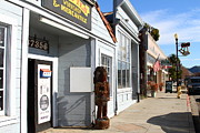 Small Towns Prints - Historic Niles District in California Near Fremont . Devils Workshop and Mercantile . 7D10660 Print by Wingsdomain Art and Photography
