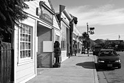 Devils Workshop And Mercantile Prints - Historic Niles District in California Near Fremont . Devils Workshop and Mercantile . 7D10663 . bw Print by Wingsdomain Art and Photography