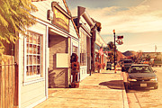 Small Towns Prints - Historic Niles District in California Near Fremont . Devils Workshop and Mercantile . 7D10663 Print by Wingsdomain Art and Photography