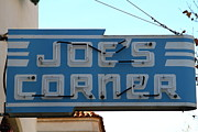 Small Towns Metal Prints - Historic Niles District in California Near Fremont . Joes Corner . 7D10714 Metal Print by Wingsdomain Art and Photography