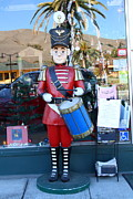 Small Towns Metal Prints - Historic Niles District in California Near Fremont . Little Drumer Boy at The Vine . 7D10691 Metal Print by Wingsdomain Art and Photography