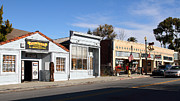 Main Street Prints - Historic Niles District in California Near Fremont . Main Street . Niles Boulevard . 7D10676 Print by Wingsdomain Art and Photography