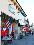 Small Towns Prints - Historic Niles District in California Near Fremont . Main Street . Niles Boulevard . 7D10693 Print by Wingsdomain Art and Photography