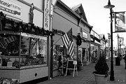 Small Towns Metal Prints - Historic Niles District in California Near Fremont . Main Street . Niles Boulevard . 7D10701 . bw Metal Print by Wingsdomain Art and Photography