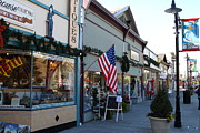 Small Towns Metal Prints - Historic Niles District in California Near Fremont . Main Street . Niles Boulevard . 7D10701 Metal Print by Wingsdomain Art and Photography