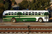Small Towns Metal Prints - Historic Niles District in California Near Fremont . Niles Coach Line Bus . 7D10803 Metal Print by Wingsdomain Art and Photography