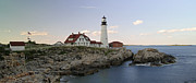 New England Acrylic Prints - Historic Portland Head Light by Juergen Roth