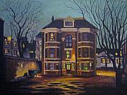Moody Paintings - Historic Property South End Haifax by John Malone