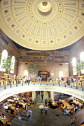 Suffolk County Prints - Historic Quincy Market In Boston Print by Richard Nowitz