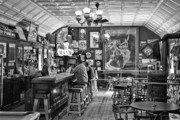 Old West Prints - Historic Saloon - Virginia City Montana Print by Daniel Hagerman
